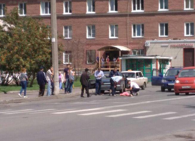 Шофёр «Волги» сбил небольшую девочку нашоссе Егорова вКемерове