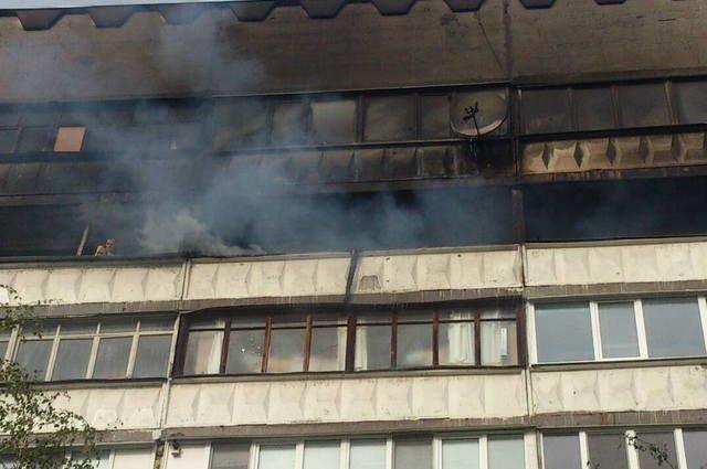 ВКемерове работники МЧС спасли впожаре 6 человек