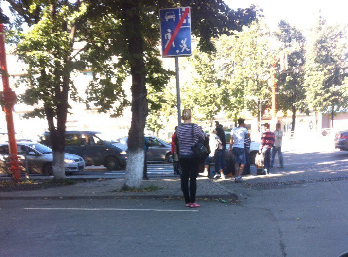 ВКемерове на«зебре» Хонда Accord сбила женщину сребёнком вколяске