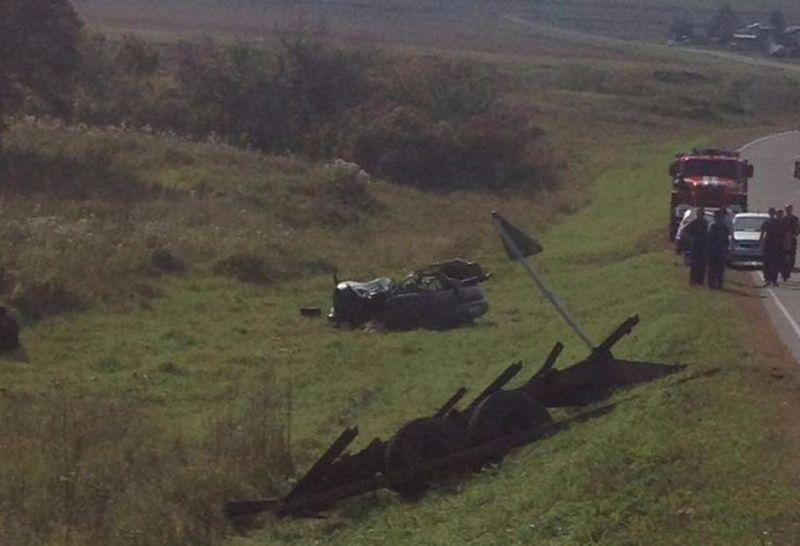 Встолкновении страктором умер шофёр «ВАЗ»— Кузбасс