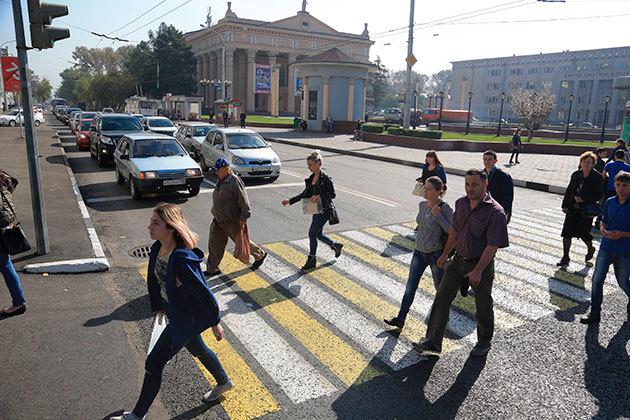 ВНовокузнецке Аман Тулеев открыл движение наулице Кирова