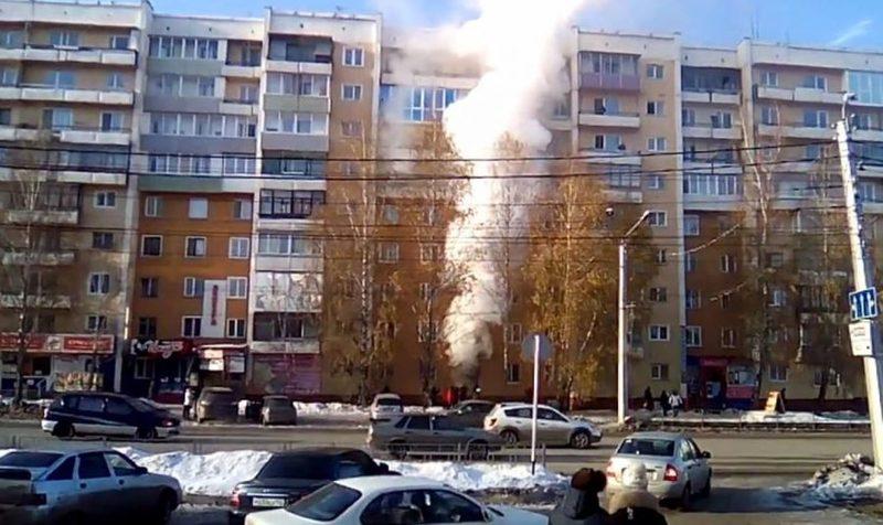 ВЛенинск-Кузнецком впожаре умер ребенок