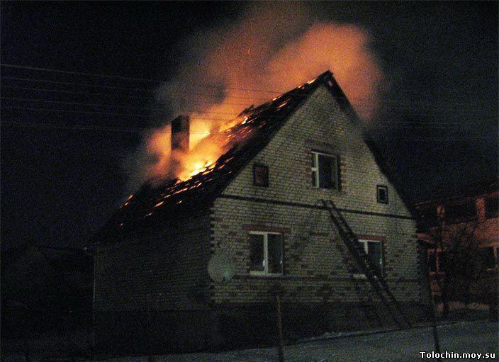 Мужчина умер напожаре вКемерове