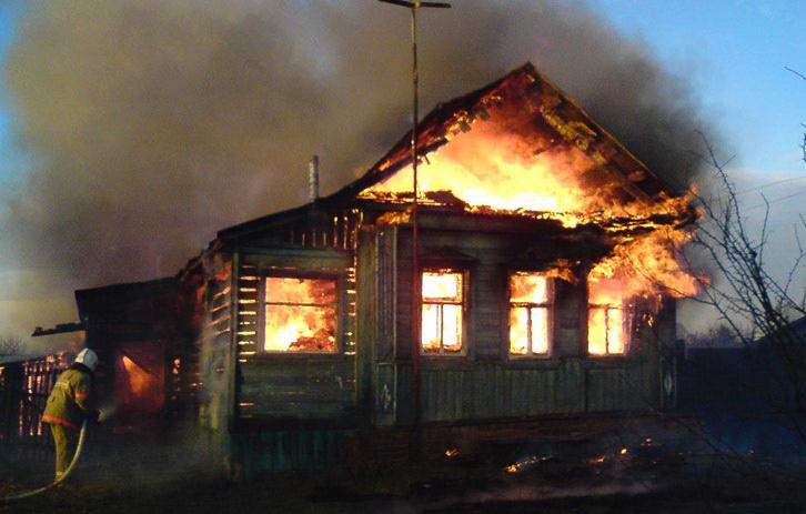 Напожаре вКрапивинском районе погибла 83-летняя женщина