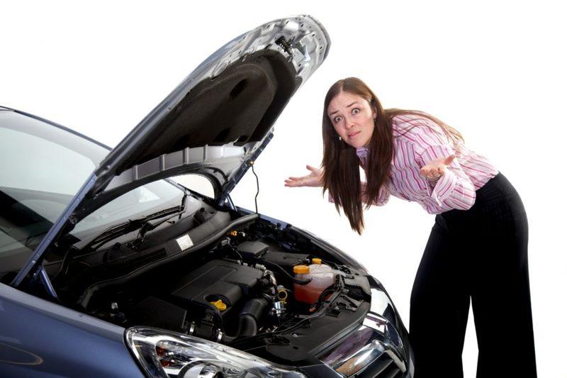Как трахаю помог девушке починить машину