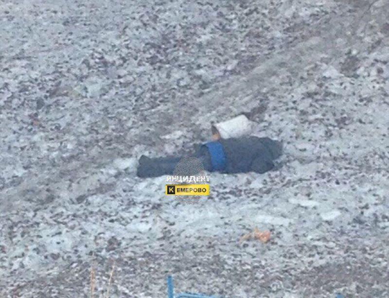 Бездомный мужчина найден мертвым наулице вКемерово