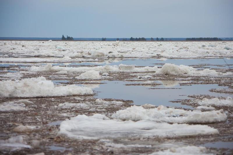 ВКузбассе начался аномальный ледоход