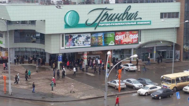 ВКемерове эвакуировали гостей ТРК «Гринвич»