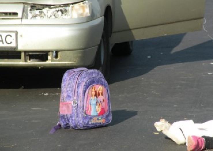 ВКузбассе две Тойота сбили напешеходном переходе девятилетнюю девочку