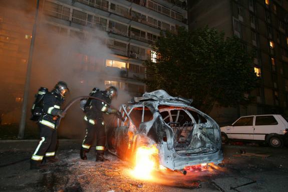 ВКузбассе заночь сгорело 5 авто